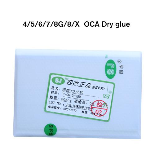 SJ OCA films 50 PCS/Bag iphone 11/11 pro/pro max 250um For 4G To Xs Max