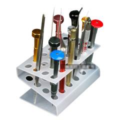 24 hole screwdriver storage box