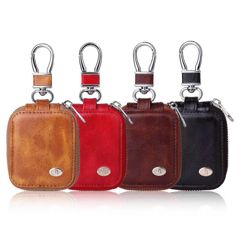 Leather personalization airpods protective case