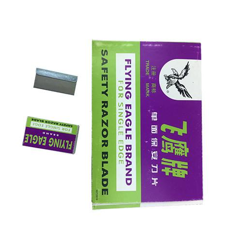 100pcs single edge safety razor blade for mobile phone OCA adhesive glue