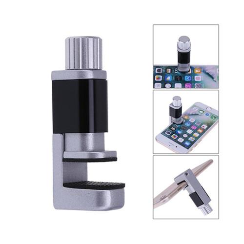 Adjustable aluminium Clip Fixture for Smart Phone Tablet LCD Digitizer Display