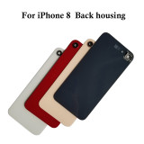 Battery Cover Glass With Camera Lens Frame For iPhone 8 8P XR