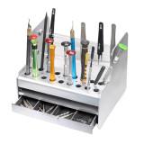 Multi-function screwdriver storage box