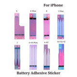 100pcs/pack Orignal Battery Sticker For iPhone X 5G 5S 5C 6 6S 6SP 6P 7G 7P 8G 8P X