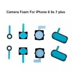 Front & Back Camera Shockproof Shielded Foam Sponge Gasket Pad With Adhesive for iphone 6 to iphone x