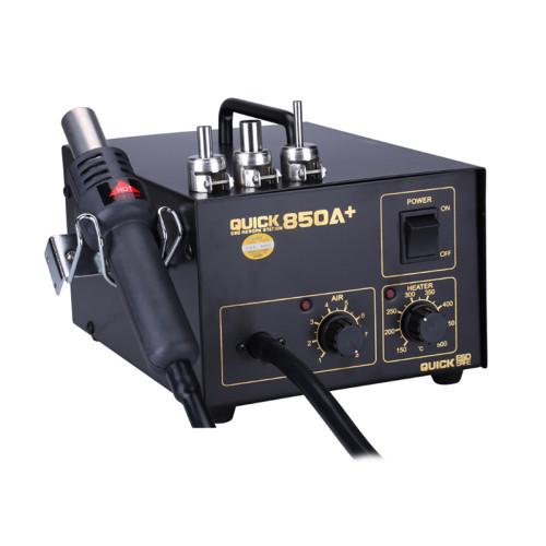 Professional  mobile phone bga smd rework soldering station hot air gun Quick 850A+