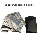 Samsung edge oca glass lcd Easy Alignment mould laminating mold