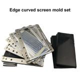 Samsung edge oca glass lcd Easy Alignment mould laminating mold