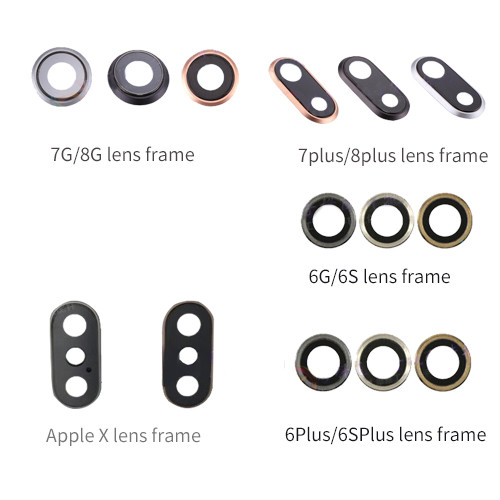 Back Rear Camera Lens Glass Cover For iPhone 6 to iphone 11promax