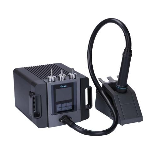 Original Quick TR1300A intelligent hot air Soldering station repair mobile phone hot air welding gun 1300W Repair Station