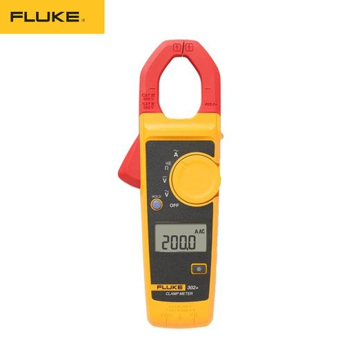 Fluke 302+ Digital Current Clamp Meter pliers ammeter Resistance Tester AC amperimetric clamp multimeter ampere 2 orders