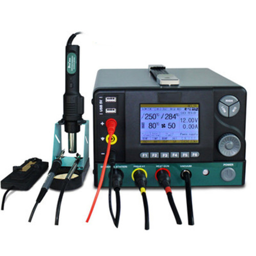 Germany DES Deshi H95 five-in-one hot air gun desoldering station two in one regulated power supply digital display thermostat electric iron