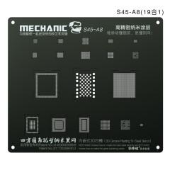 MECHANIC S45 3D Groove Nanotechnology Steel Stencil A8 A9 A10 A11 A12