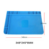 MECHANIC lntegrated Heat lnsulation working mat V12 V10 V8 V6 silicone pad