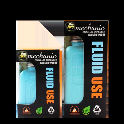 MECHANIC dissipative ESD protective HDPE bottle 6oz/4oz spray-proof TZ01 TP01