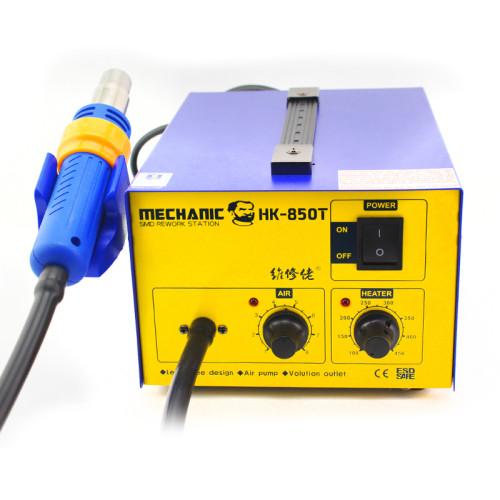 Mechanic HK-850T smd hot air rework station air pump air supply