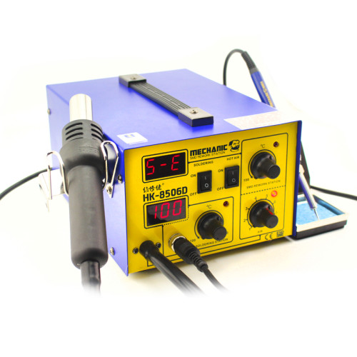 MECHANIC HK-8506D 2in1 solder iron staion& smd rework station