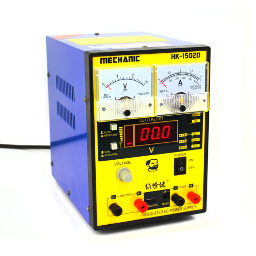 MECHANIC HK-1502D regulated DC power supply station