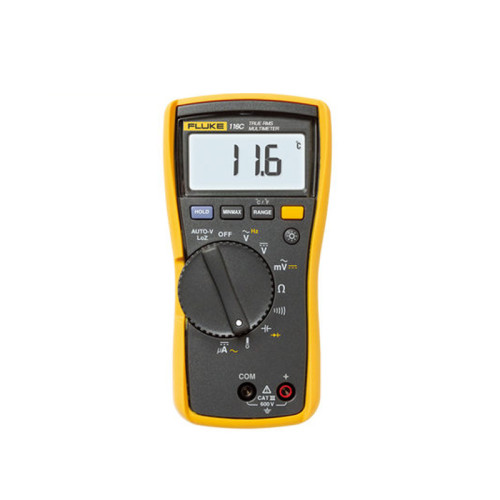 Fluke's official flagship store Fluke 116C compact anti-burn pocket digital multimeter