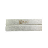 AMAOE M40 Gold-plated steel whetstone for polishing scorpion grinding blade double-sided tweezers