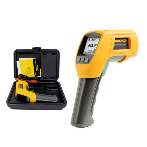 FLUKE Fluke thermometer F561/F562/F563/ high precision infrared two in one thermometer infrared and contact type