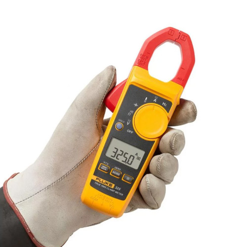 Fluke 325 True RMS Clamp Meter offers big AC/DC features in a small form factor