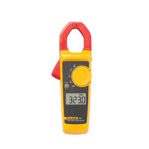 Fluke 323 True RMS Clamp Meter delivers rugged reliable performance for general electrical troubleshooting