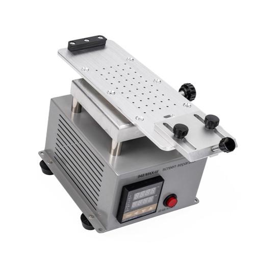 Universal separator rotary heating separation machine straight curve separator