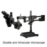 3.5X-180X Continuous Zoom Trinocular stereo microscope Trinocular microscope Zoom 45 90 180X