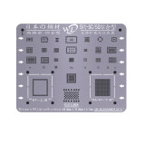 WL Universal BGA Reballing Stencil Kit 0.12mm Thickness Tin Mesh Solder Template for iPhone 11 XSMAX XS XR X 8 8P 7P 7 6P 6 5 5S