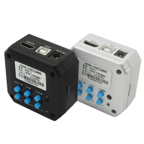 30MP 1080P HDMI +USB Microscope Camera support  TF Card Video Record
