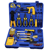 MECHANIC hardware tool box set electrician tool set multi-function tool box household with multimeter