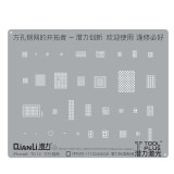 Qianli Universal IC Reballing Stencil Lasering Square Hole Stencil for iPhone   6 6s 7 8 IC Reballing 0.1mm 0.12mm Thickness