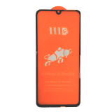 Huawei  models 111D high quality anti fingerprint full cover tempered glass 150MM super large arc 280AB glue