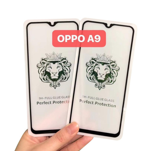Lion Head Oppo full cover tempered glass big arc explosion-proof protective film