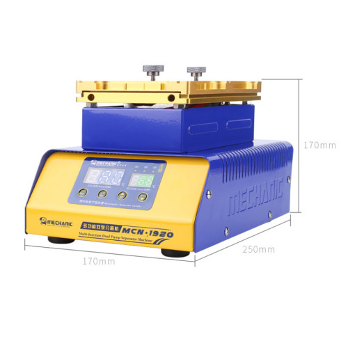 MECHANIC Multi-function Dual Pump Separator Machine MCN-1920 for back cover