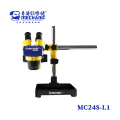 MECHANIC Industrial binocular stereo microscope MC24S-L1 High definition double gear suitable for mobile phone PCB maintenance