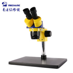 MECHANIC Industrial Binocular Stereo Microscope MC24S-B3 High Definition Double Gear Suitable For Mobile Phone PCB Maintenance
