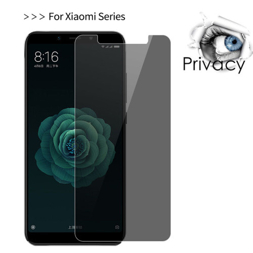 XIAOMI Redmi best anti-peeping tempered glass privacy-protective anti-spy full cover   tempered glass big arc explosion-proof screen protective film high definition
