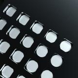 MEDA IDEA CPU/IC stencil for iPhone 6-11Promax A8-A13 CPU&IC black stencil black steel tin plant net