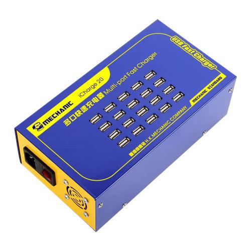 MECHANIC Multi-Port Fast Charger USB 5V2A  iCharge20 iCharger30 iCharger40 iCharger60