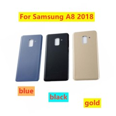Samsung Galaxy back cover battery door glass A8 (2018)/A530F