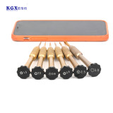 KGX screwdriver gold color set 0.6/0.8/1.5/2.5/3.0/T2 suit for iPhone 5S/6/7/8 tail screw Huawei T2 screw
