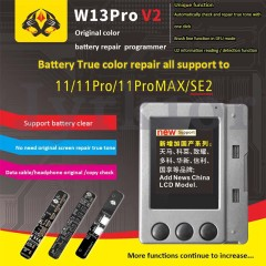W13 Pro V2  Tool Kit pro LCD Ambient Light Sensor Vibrator Repair IP DISPLAY EEPROM Programmer for iPhone from 7 to XS/XSM XR 11 pro max
