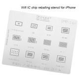 AMAOE iPhone iPad wifi IC chip reballing stencil 0.12mm iPad 5-11 iPad5 iPad mini 2 3 4 Pro9.7 Pro12.9