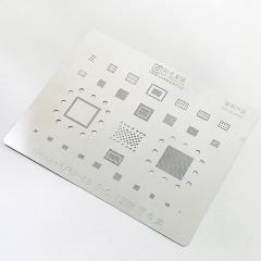 AMAOE IC BGA Reballing Stencil for   iphone 12 11 X/XS/XS max/XR/8/8P/7/6S/6/5S A14 A13/12/A11/A10/A9/A8