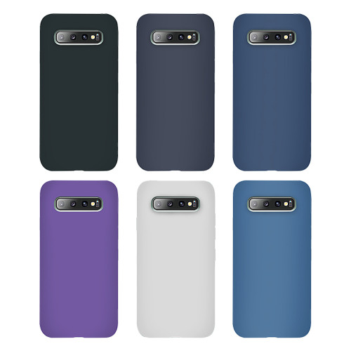 Samsung models Official silicone protective phone cases 3 side cover