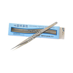 ST-14 ST-14K ST-14X ST-14S tweezers anti acid anti magnetic high hardness stainless steel tweezer 9 holes design