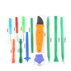 Portable 12 in 1 mobile phone laptop repair tool screwdriver blade open tool