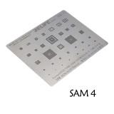 RL-044 SAM4 SAM6 Steel net for Samsung 0.12MM universal CPU stencil
